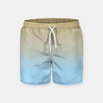 Thumbnail image of Abstract ombre ocean beach Swim Shorts, Live Heroes