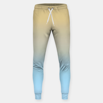 Thumbnail image of Abstract ombre ocean beach Sweatpants, Live Heroes