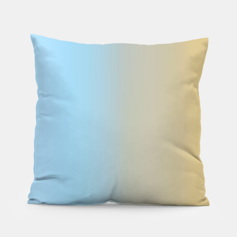 Thumbnail image of Abstract ombre ocean beach Pillow, Live Heroes