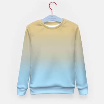 Thumbnail image of Abstract ombre ocean beach Kid's sweater, Live Heroes