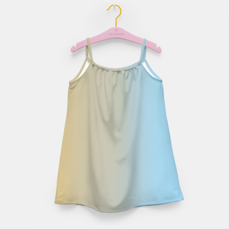 Thumbnail image of Abstract ombre ocean beach Girl's dress, Live Heroes