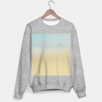 Thumbnail image of Abstract neutral ocean beach Sweater regular, Live Heroes