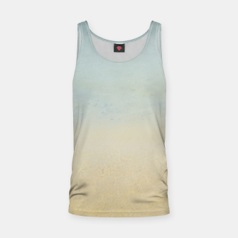 Thumbnail image of Abstract neutral ocean beach Tank Top, Live Heroes