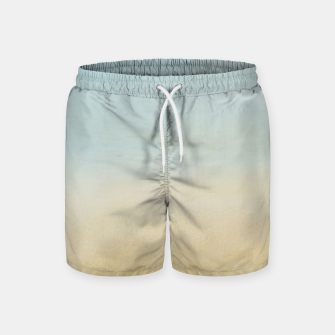 Thumbnail image of Abstract neutral ocean beach Swim Shorts, Live Heroes