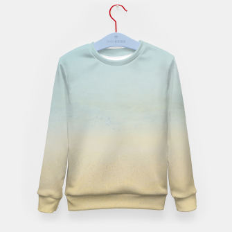 Thumbnail image of Abstract neutral ocean beach Kid's sweater, Live Heroes