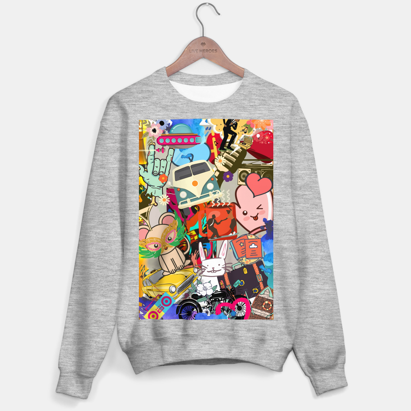 Image of Travelling  Bluza standard - Live Heroes