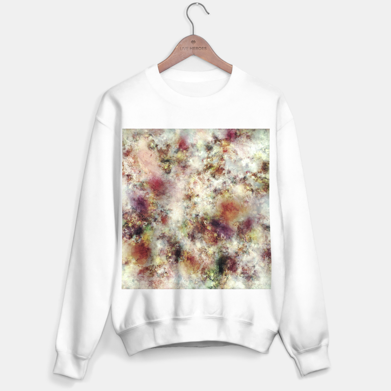 Image of Careful choices Sweater regular - Live Heroes