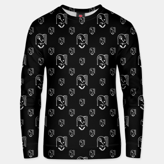 Funny Weird Monsters Motif Pattern Unisex sweater thumbnail image
