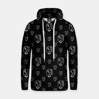 Funny Weird Monsters Motif Pattern Hoodie thumbnail image