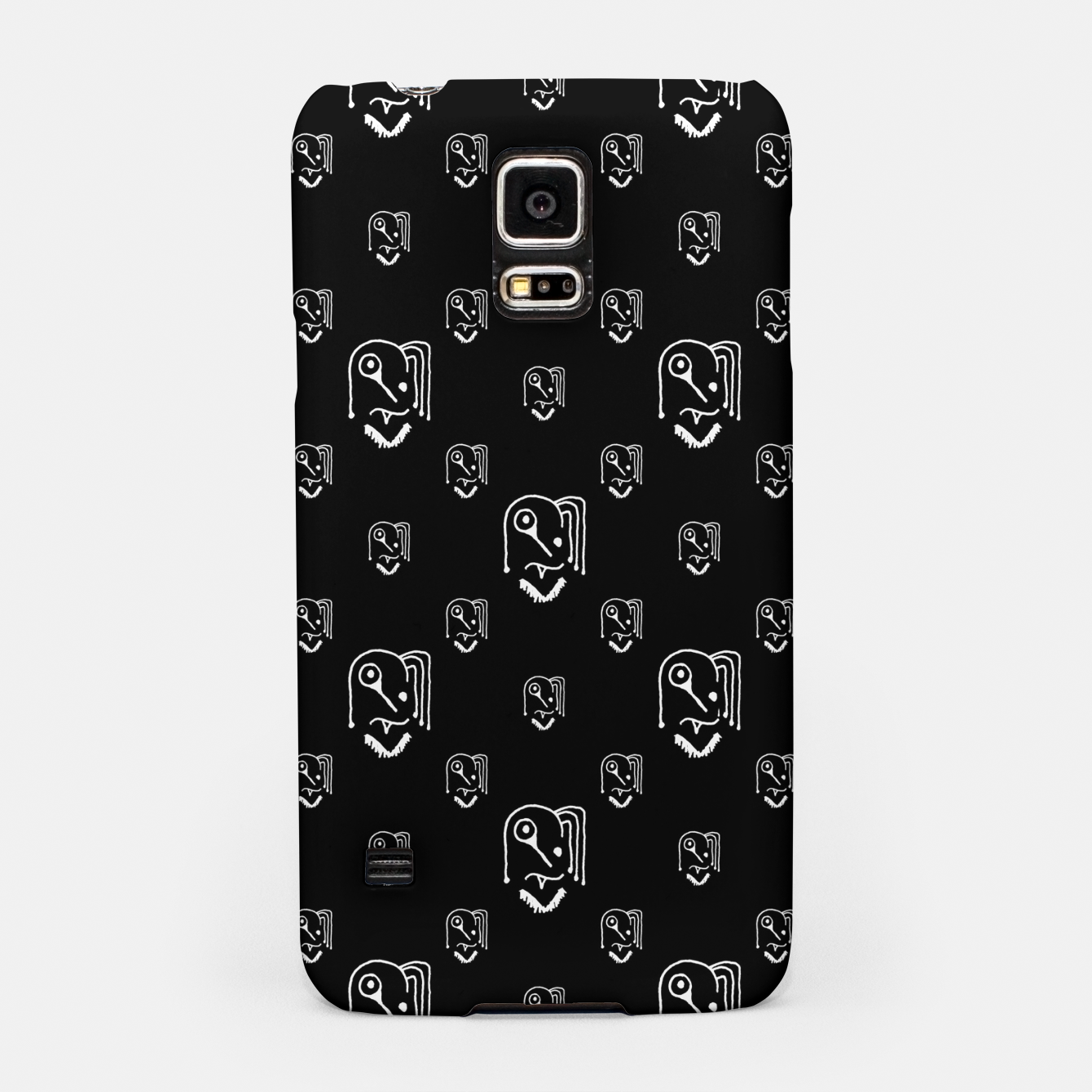 Image of Funny Weird Monsters Motif Pattern Samsung Case - Live Heroes
