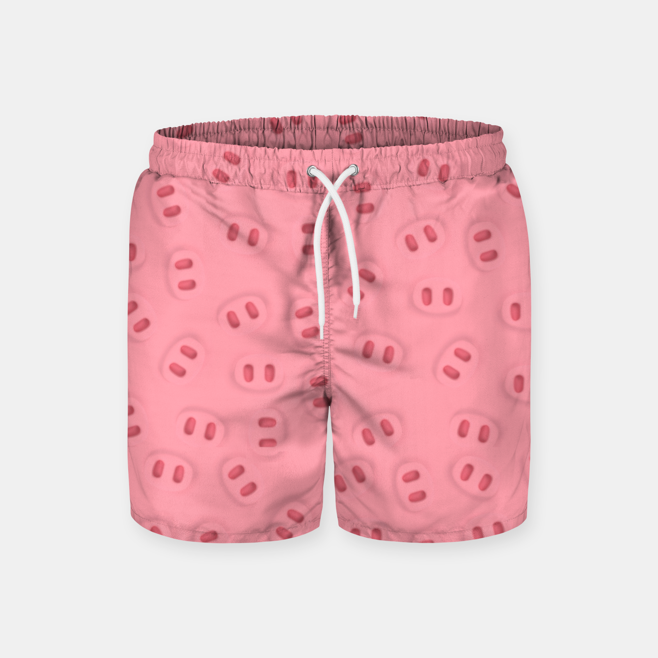 Image of Rosa Nose Pattern  Swim Shorts - Live Heroes