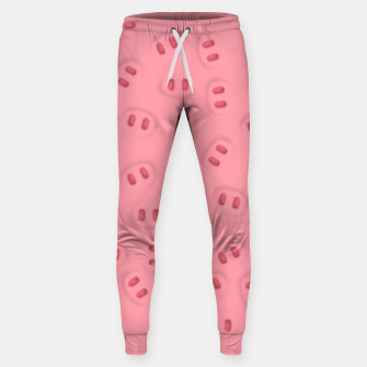Thumbnail image of Rosa Nose Pattern  Sweatpants, Live Heroes