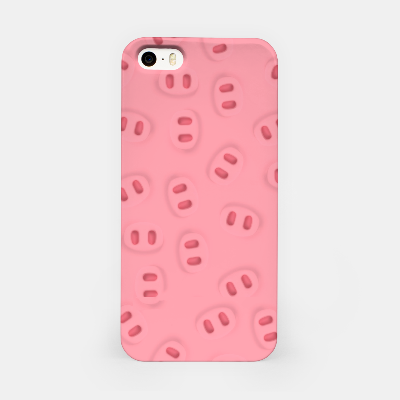 Image of Rosa Nose Pattern  iPhone Case - Live Heroes