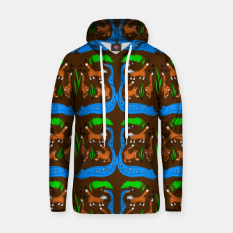 Thumbnail image of Foxes Pattern Hoodie, Live Heroes