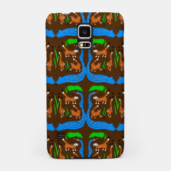 Thumbnail image of Foxes Pattern Samsung Case, Live Heroes