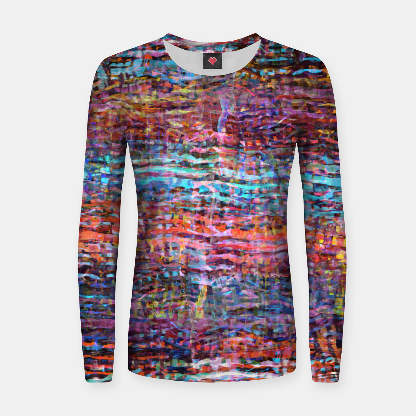 Image of Watercolor texture 2 Women sweater - Live Heroes