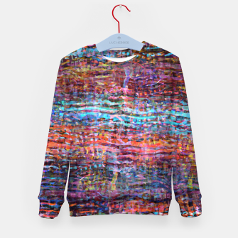 Watercolor texture 2 Kid's sweater thumbnail image