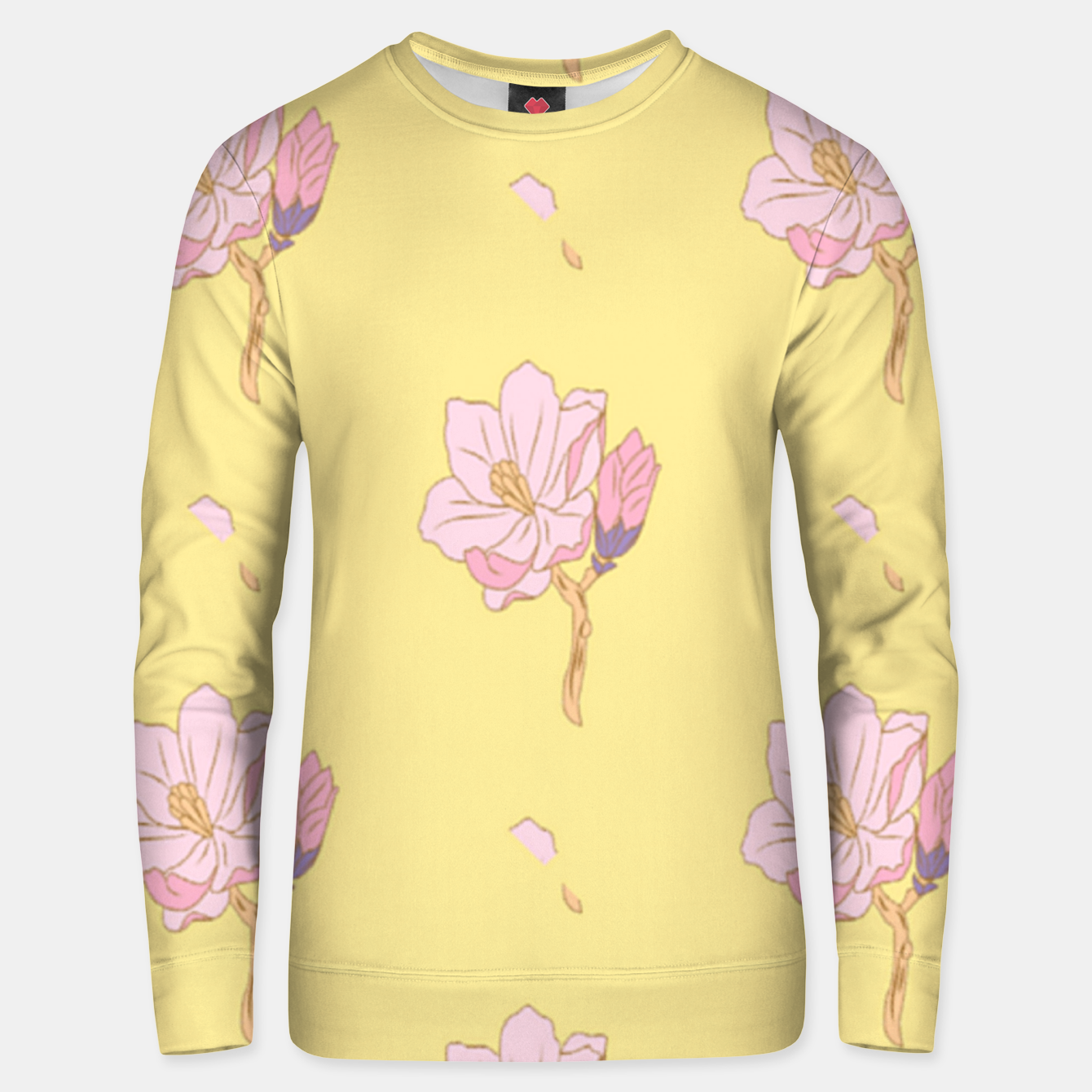 Image of Spring flowers Unisex sweater - Live Heroes