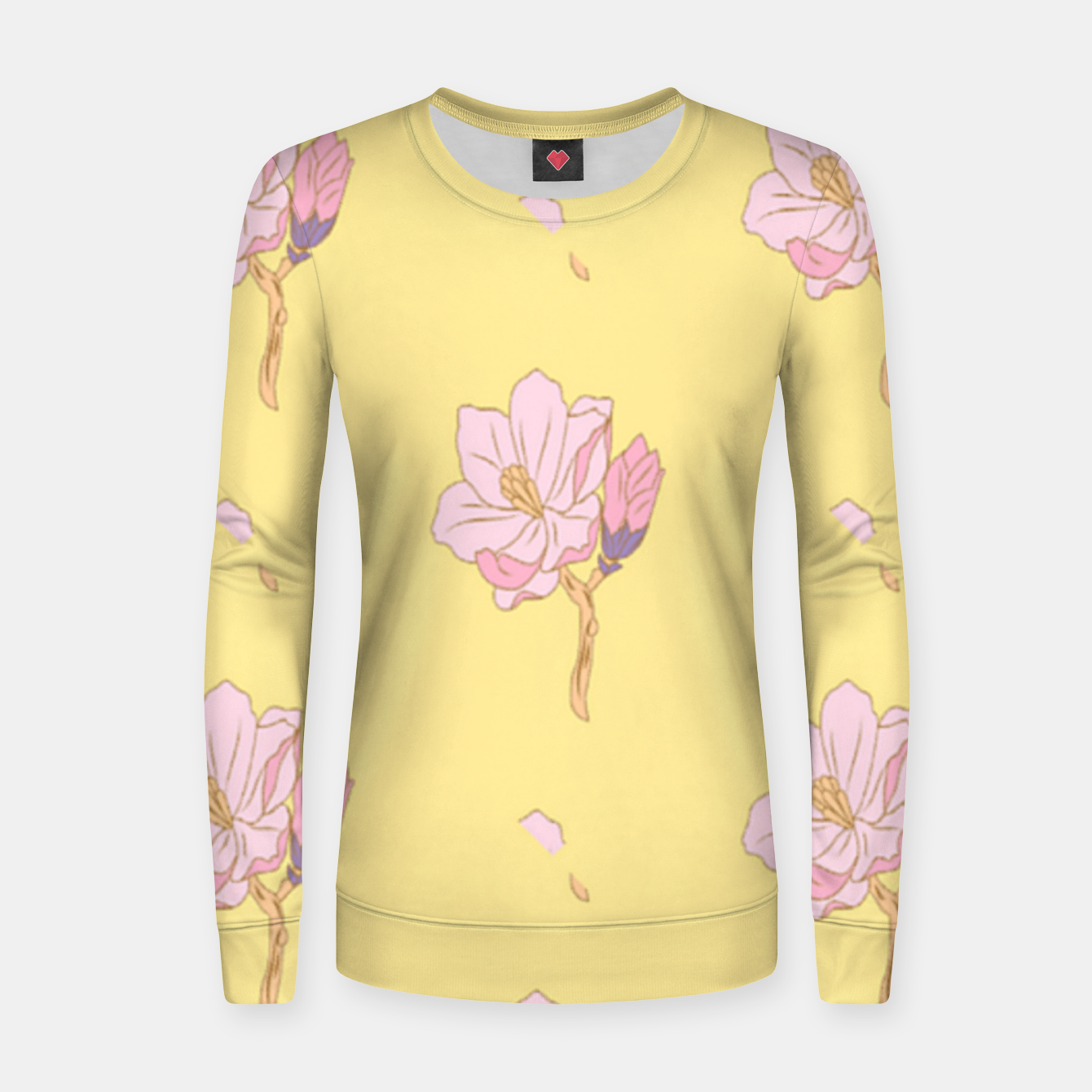 Image of Spring flowers Women sweater - Live Heroes