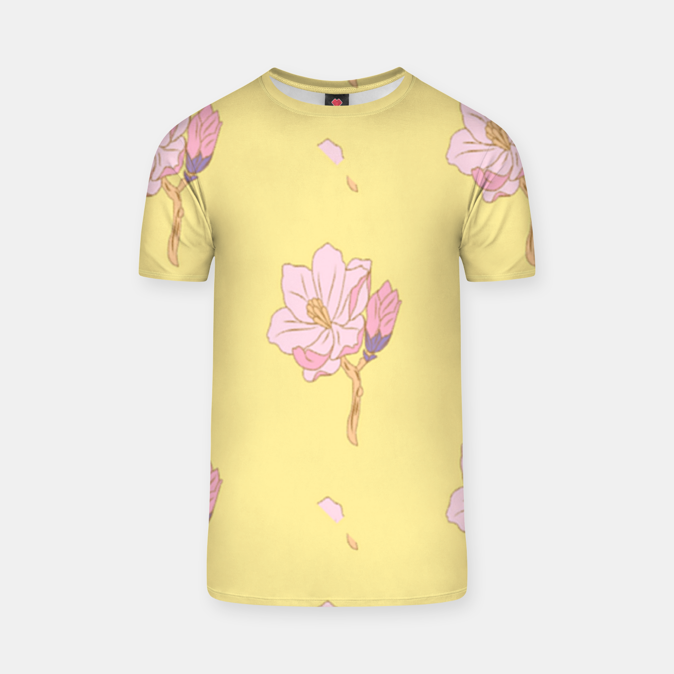 Image of Spring flowers T-shirt - Live Heroes