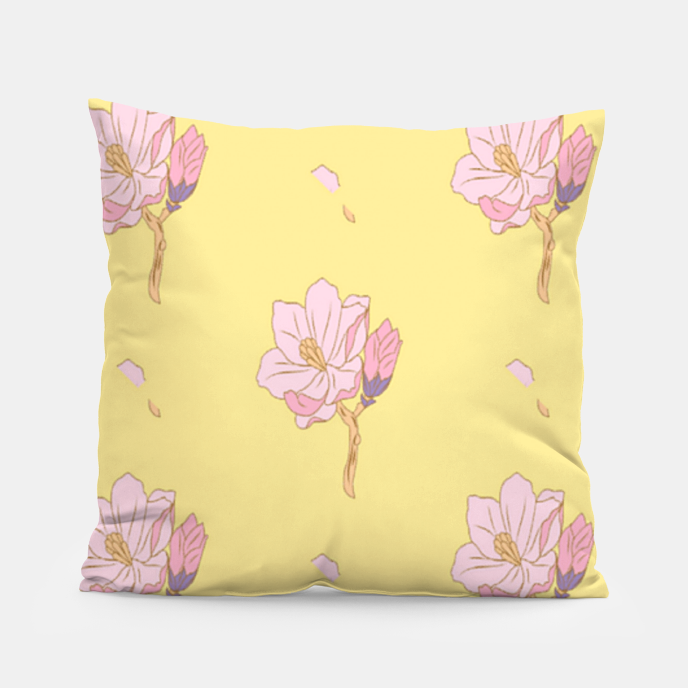 Image of Spring flowers Pillow - Live Heroes