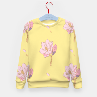 Spring flowers Kid's sweater thumbnail image