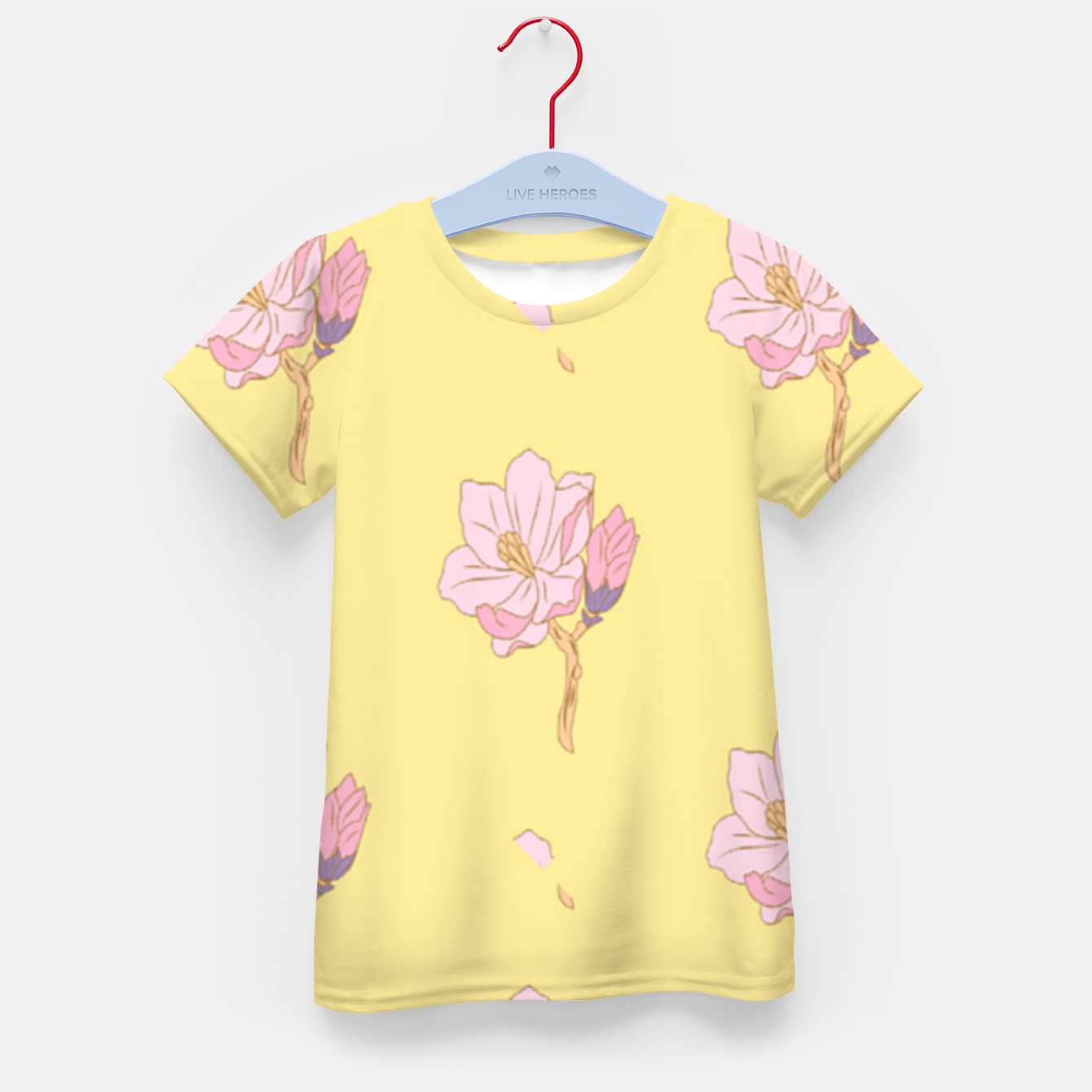 Image of Spring flowers Kid's t-shirt - Live Heroes