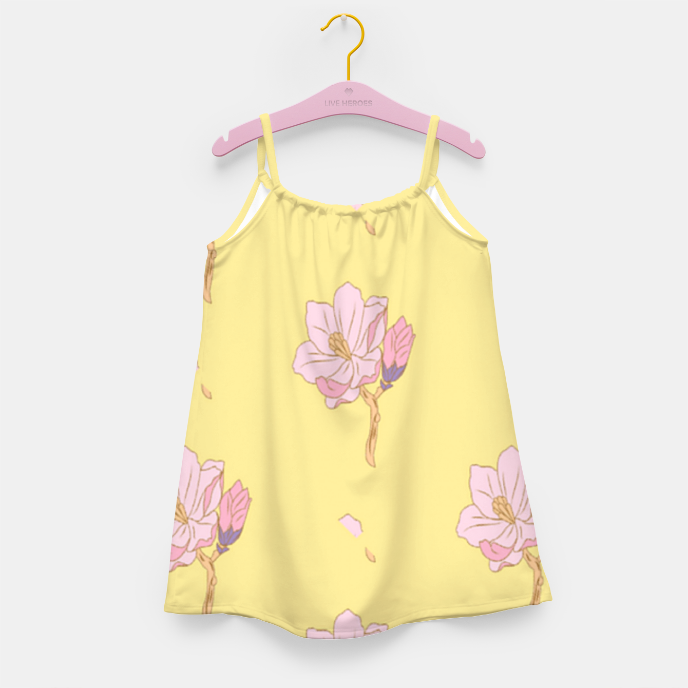Image of Spring flowers Girl's dress - Live Heroes