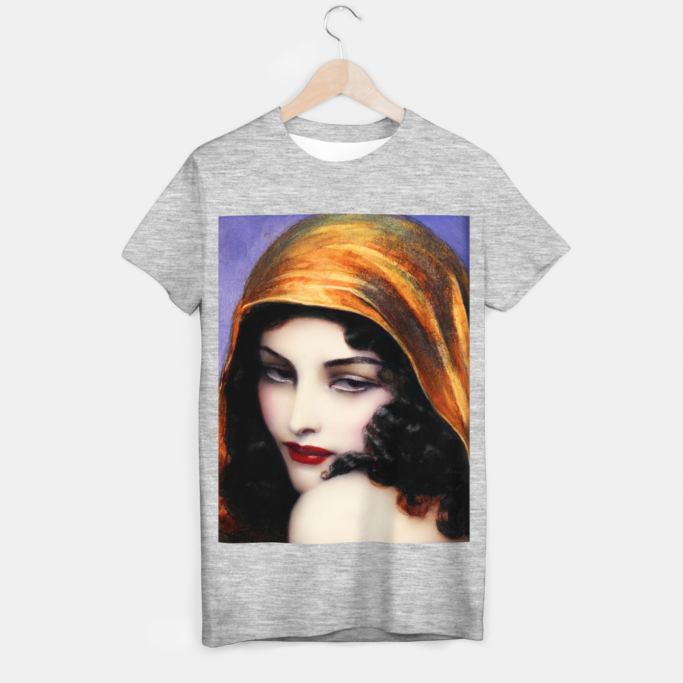 Image de Gypsy by Wladyslaw Theodor Benda Classical Art Xzendor7 Old Masters Reproductions T-shirt regular - Live Heroes