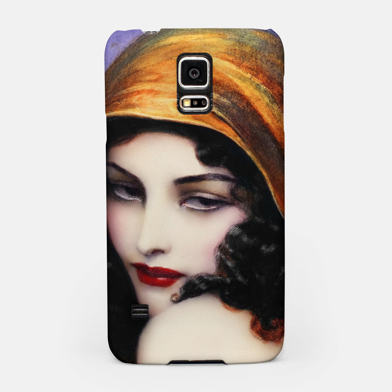Image de Gypsy by Wladyslaw Theodor Benda Classical Art Xzendor7 Old Masters Reproductions Samsung Case - Live Heroes