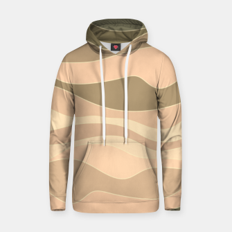 Miniatur Desert hills, silhouettes of deserted rounded sand dunes Hoodie, Live Heroes
