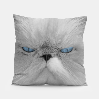 Thumbnail image of Angry Cat Pillow, Live Heroes