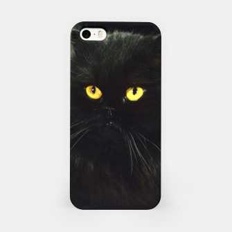Thumbnail image of Black Cat iPhone Case, Live Heroes