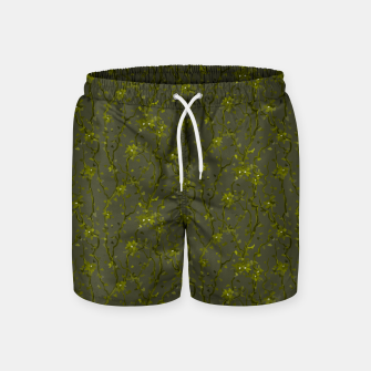 Thumbnail image of Blossoming veins of the green neon world  Swim Shorts, Live Heroes