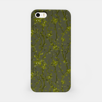 Thumbnail image of Blossoming veins of the green neon world  iPhone Case, Live Heroes