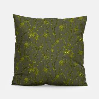 Thumbnail image of Blossoming veins of the green neon world  Pillow, Live Heroes