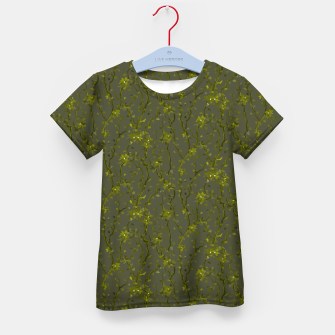 Thumbnail image of Blossoming veins of the green neon world  Kid's t-shirt, Live Heroes