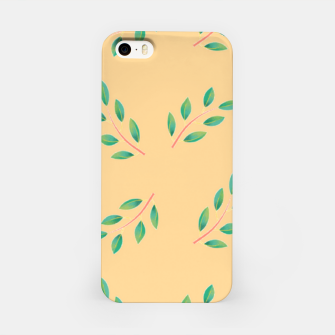 Thumbnail image of Olive leaves  iPhone Case, Live Heroes