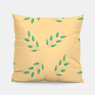 Thumbnail image of Olive leaves  Pillow, Live Heroes