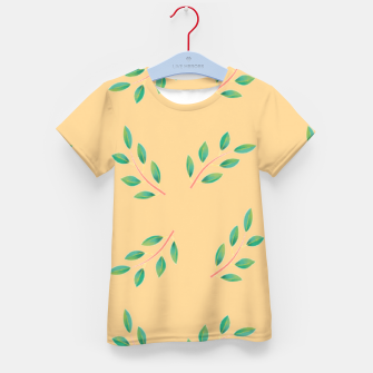 Thumbnail image of Olive leaves  Kid's t-shirt, Live Heroes
