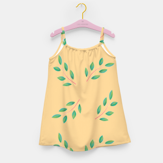 Thumbnail image of Olive leaves  Girl's dress, Live Heroes