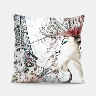 Thumbnail image of Dreams of France Pillow, Live Heroes