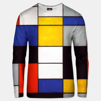 Thumbnail image of Composition A by Piet Mondrian Unisex sweater, Live Heroes