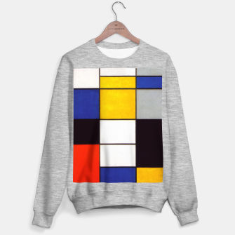 Thumbnail image of Composition A by Piet Mondrian Sweater regular, Live Heroes