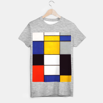 Thumbnail image of Composition A by Piet Mondrian T-shirt regular, Live Heroes