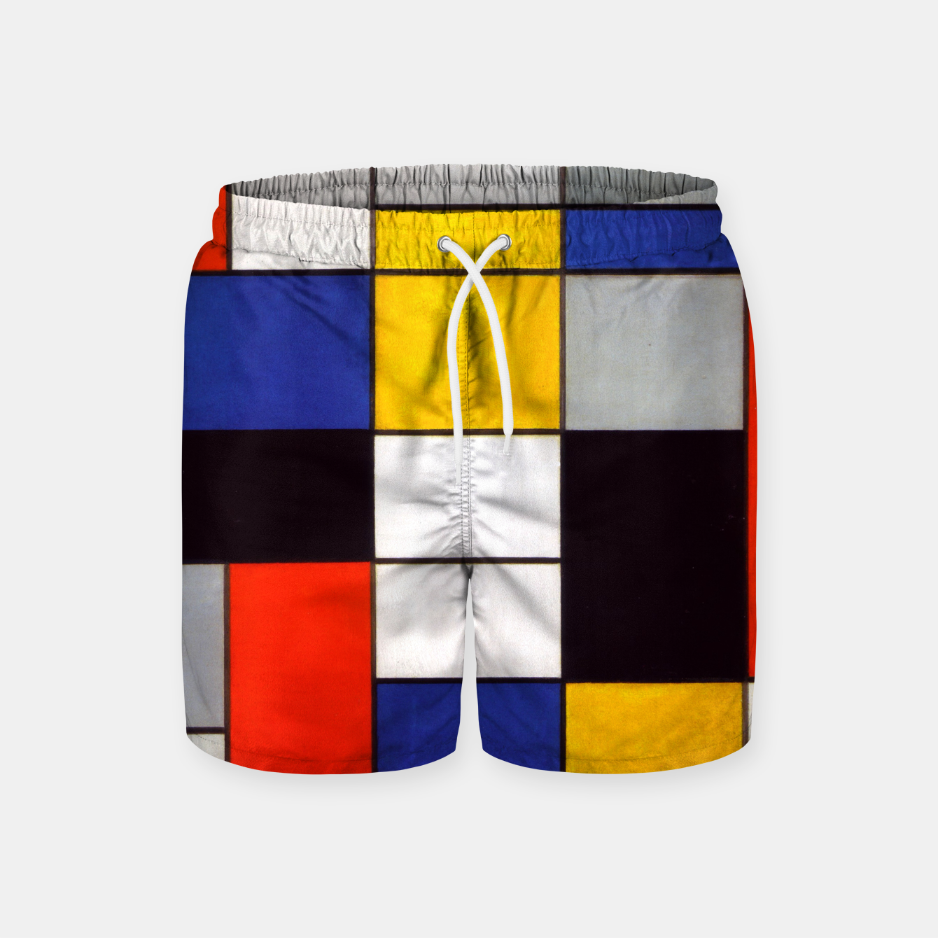 Image of Composition A by Piet Mondrian Swim Shorts - Live Heroes