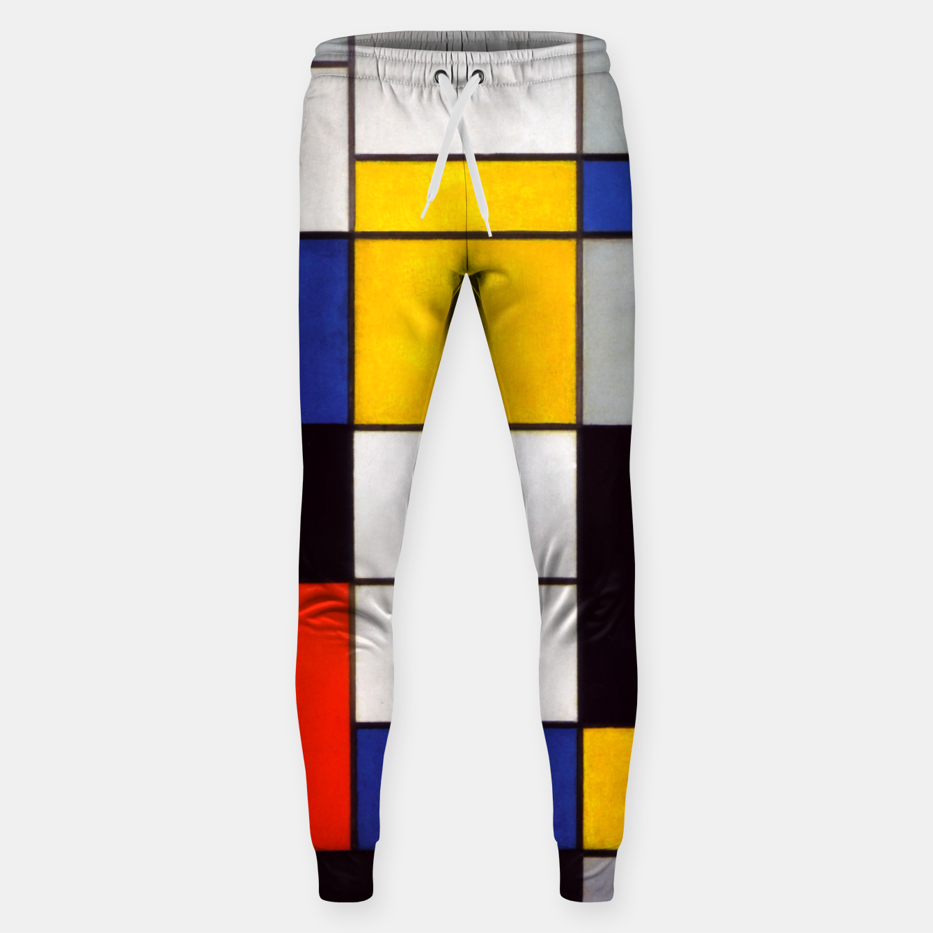 Image of Composition A by Piet Mondrian Sweatpants - Live Heroes