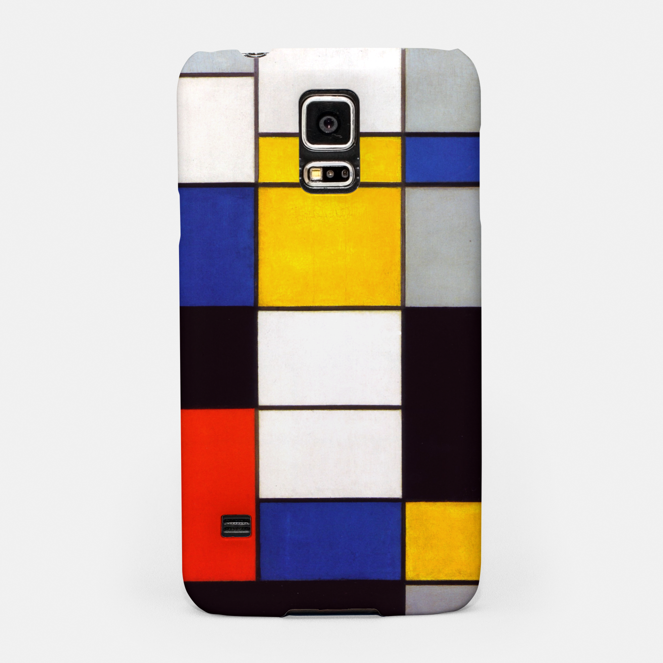 Image of Composition A by Piet Mondrian Samsung Case - Live Heroes