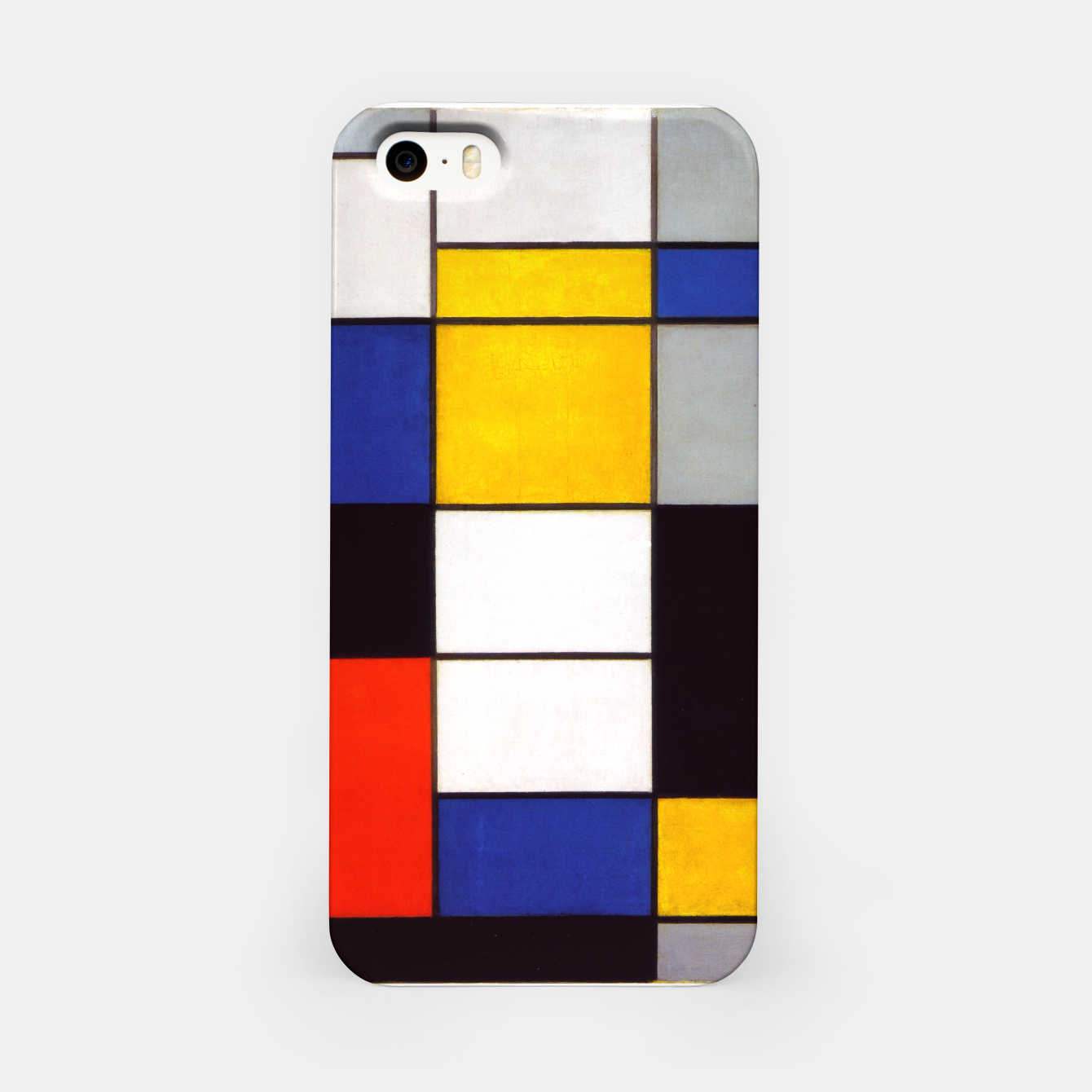 Image of Composition A by Piet Mondrian iPhone Case - Live Heroes