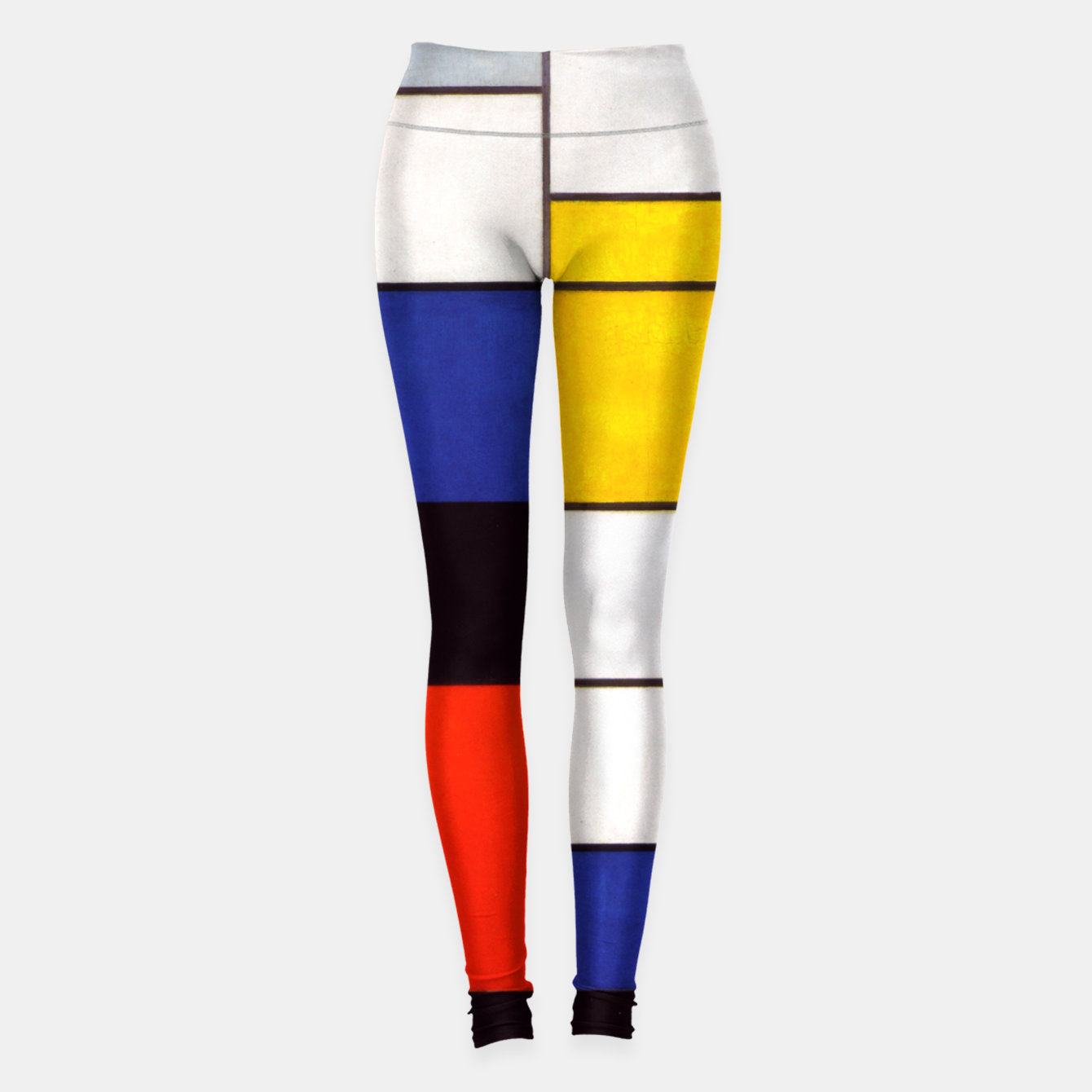 Image of Composition A by Piet Mondrian Leggings - Live Heroes